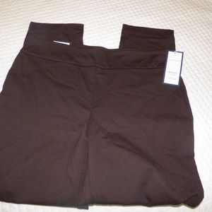 Charter Club Cambridge Skinny Tumy-Control Pants,